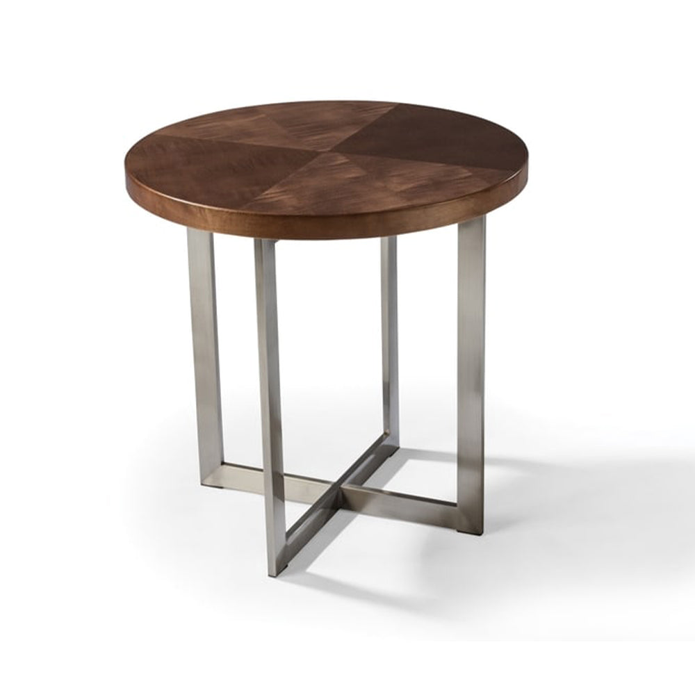 Mabel Maple Chair Side Table