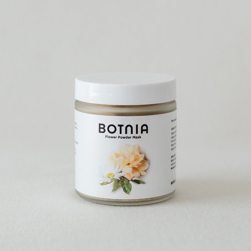 Flower Powder Mask