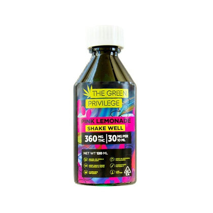 Green Privilege Syrup - Pink Lemonade 1200mg