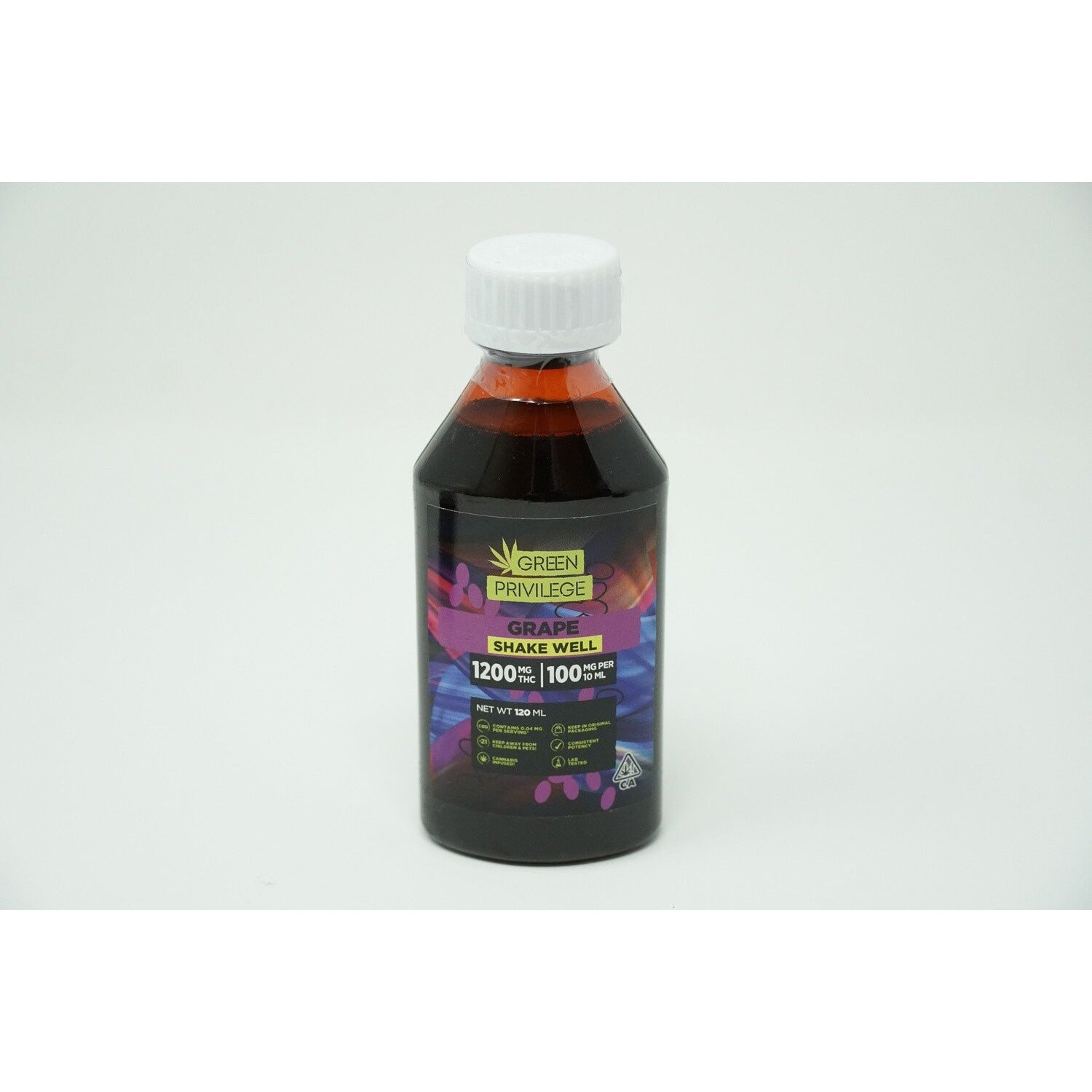 Green Privilege Syrup - Grape 1200mg