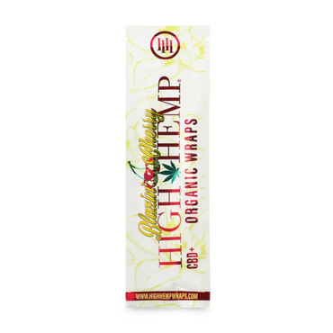 High Hemp - Blazing Cherry Organic Wraps