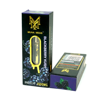 Muha Meds Cartridge - Blackberry Kush 1000mg