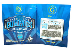 Gold Gummies Blueberry 300mg