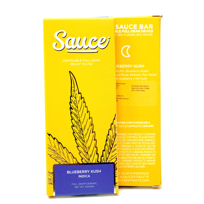 Sauce Bar Disposable - Blueberry Kush 1000mg