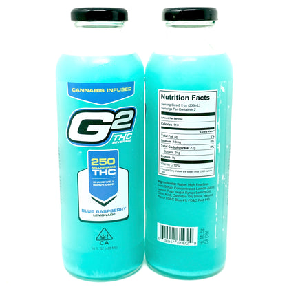G2 Blue Raspberry Lemonade - 250mg