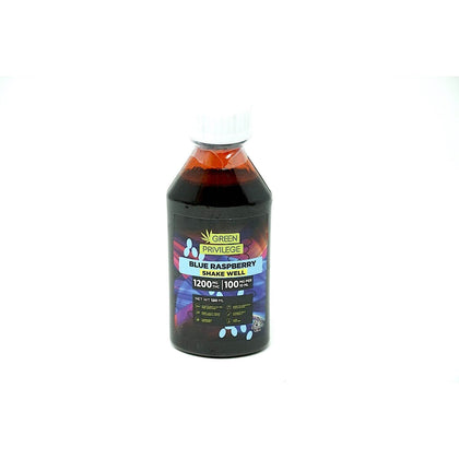 Green Privilege Syrup - Blue Raspberry 1200mg