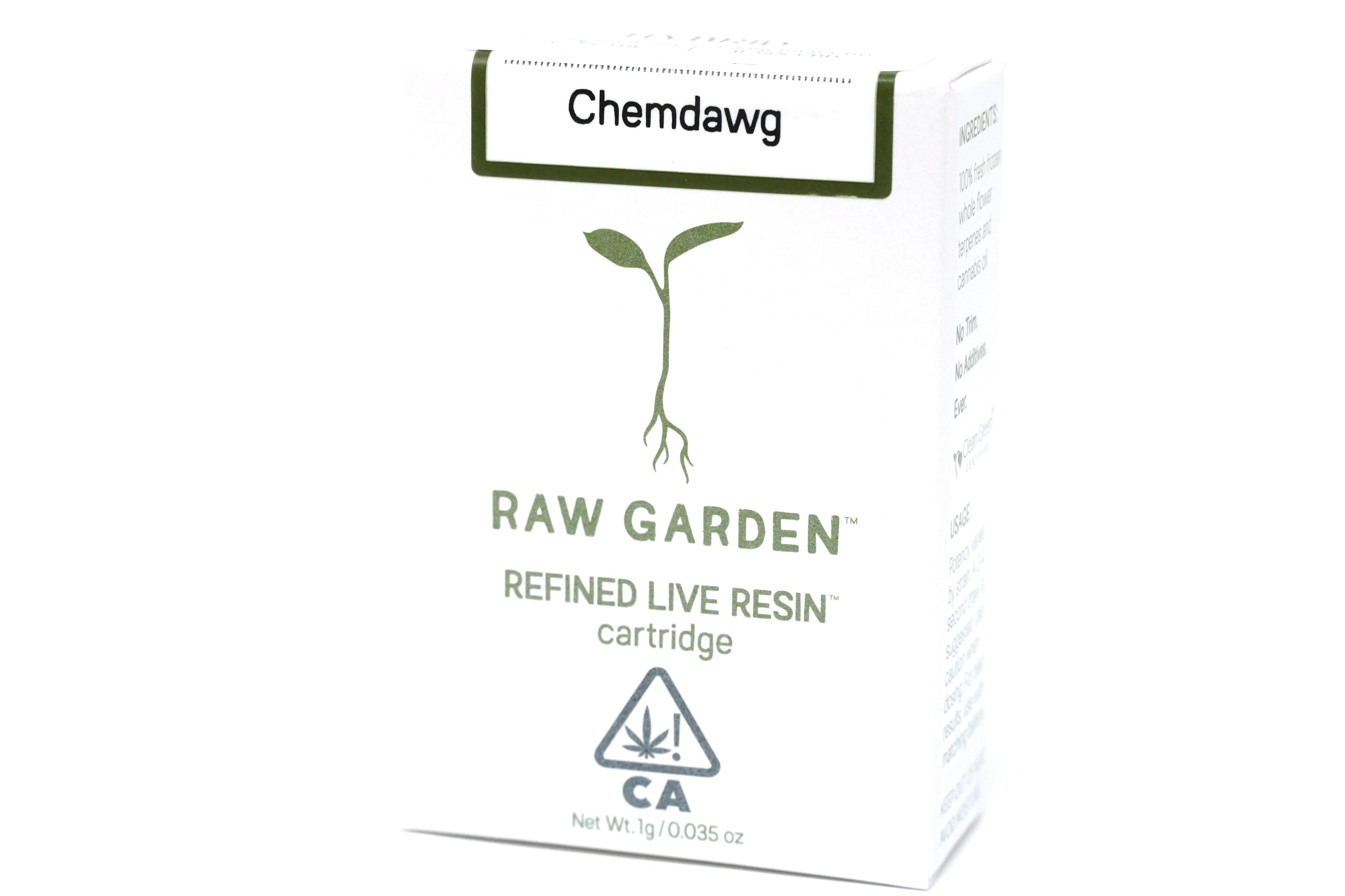 Raw Garden - Chemdawg 1000mg