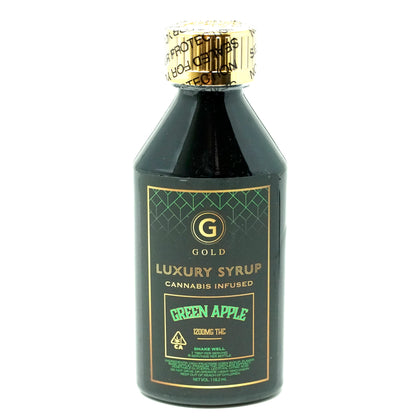 Gold Syrup - Green Apple 1200mg