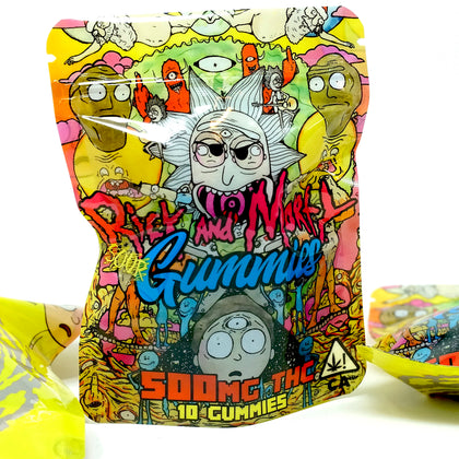 Rick Morty - Sour Gummies 500mg