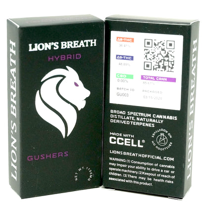 Lion's Breath - Gushers 1000mg