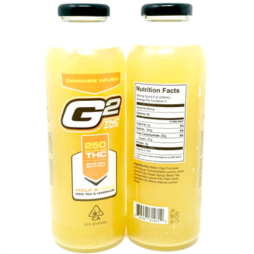 G2 Half & Half Lemonade - 250mg