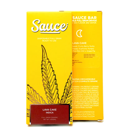 Sauce Bar Disposable - Lava Cake 1000mg