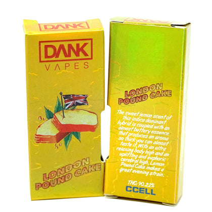 Dank Vapes - London Pound Cake 1000mg