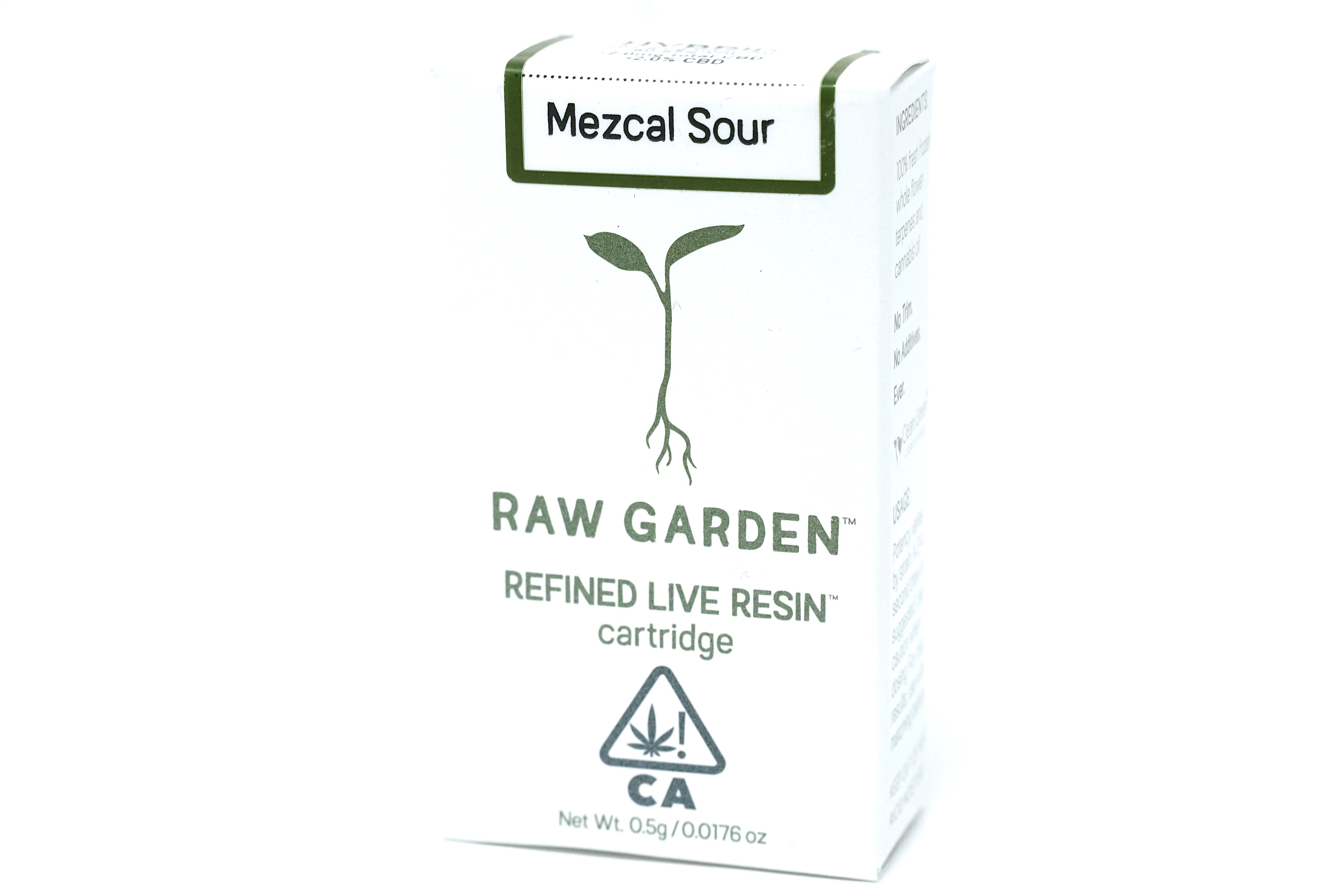 Raw Garden - Mezcal Sour 500mg