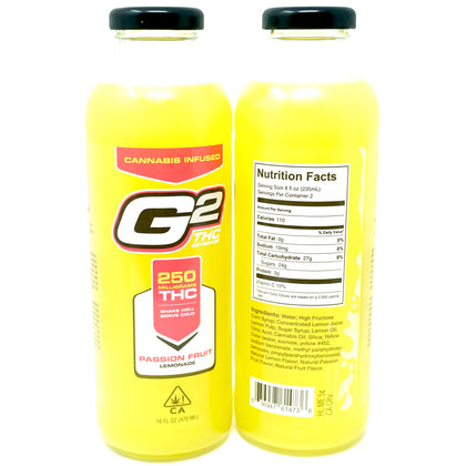 G2 Passion Fruit Lemonade - 250mg