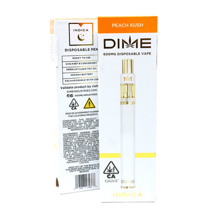 DIME Disposable - Peach Kush 600mg