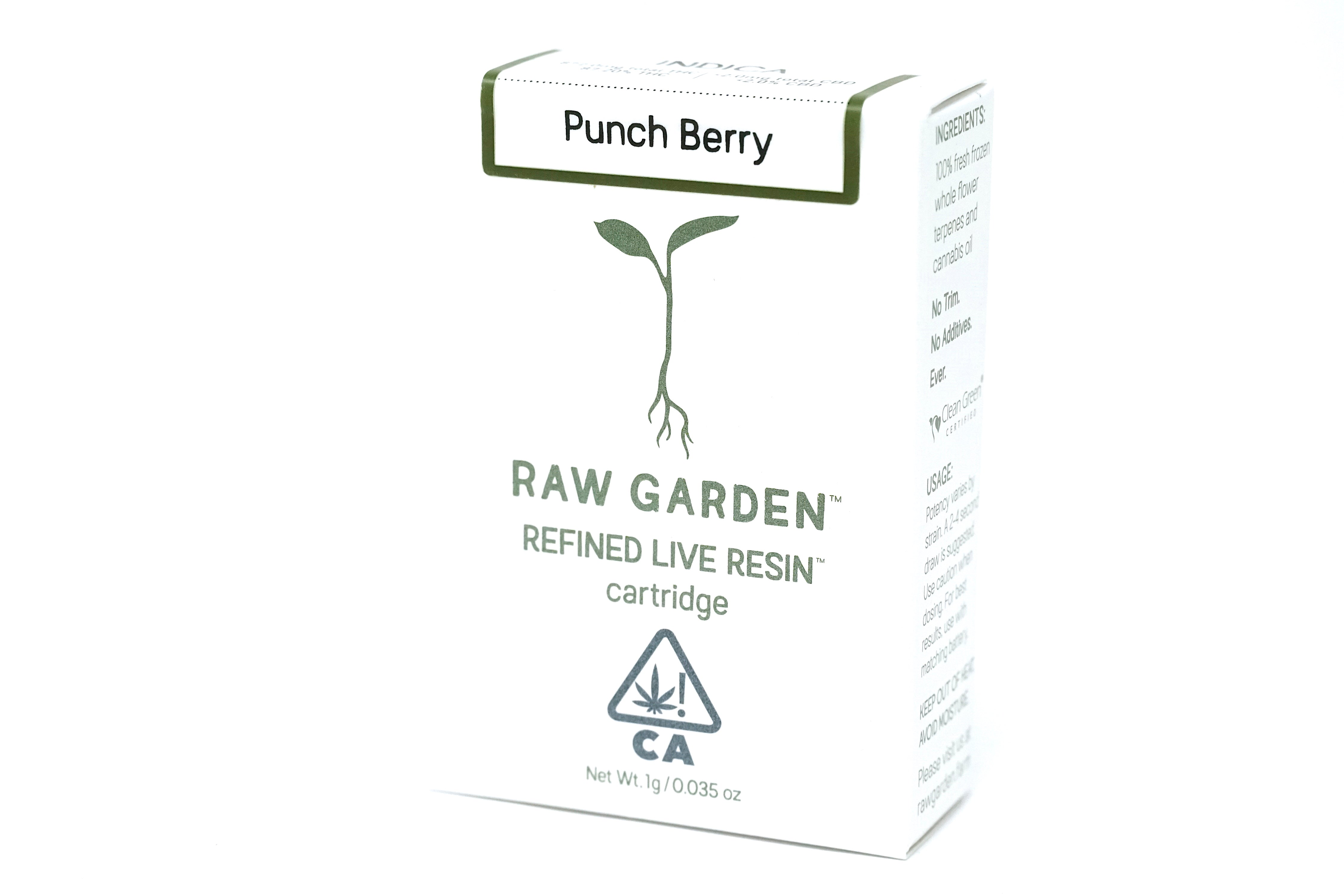 Raw Garden - Punch Berry 1000mg