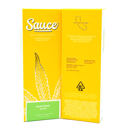 Sauce Disposable - Sour Diesel 1000mg