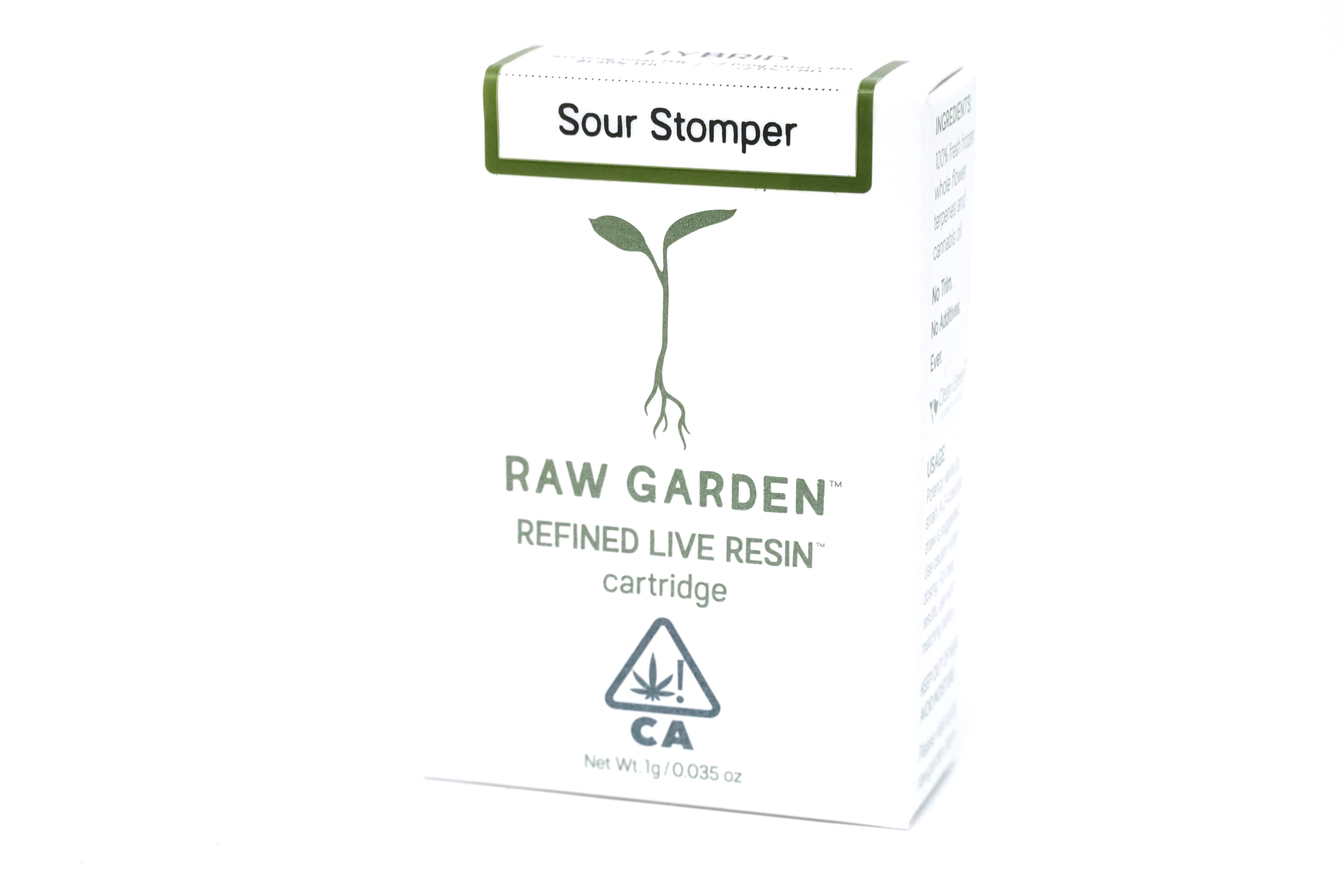 Raw Garden - Sour Stomper 1000mg