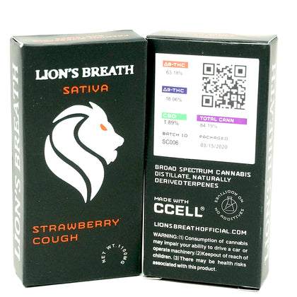 Lion's Breath - Strawberry Cough 1000mg