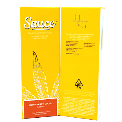Sauce Disposable - Strawberry Cough 1000mg