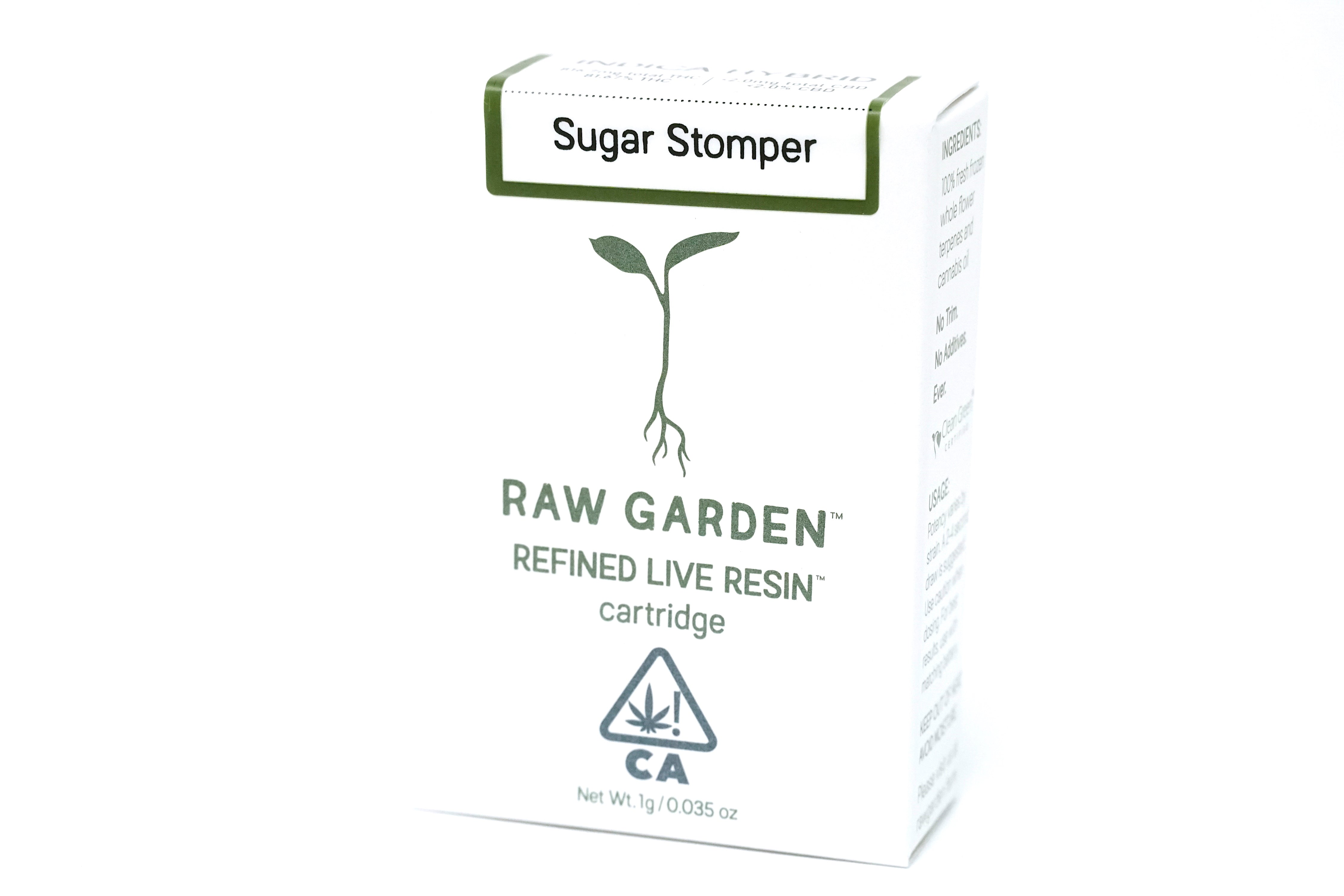 Raw Garden - Sugar Stomper 1000mg