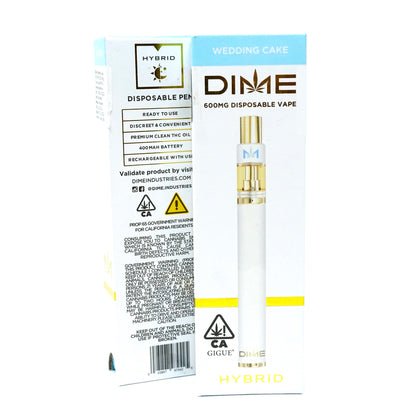 DIME Disposable - Wedding Cake 600mg