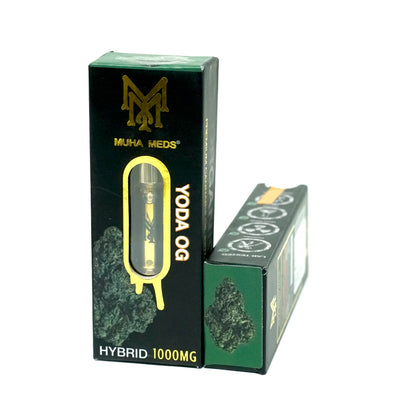Muha Meds Cartridge - Yoda OG 1000mg