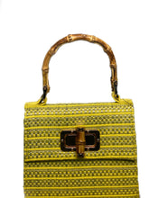 Load image into Gallery viewer, Mellow Yellow Clutch Bag