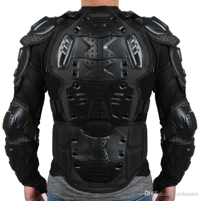Full Body Armor Protective Motorcycle Riding Jacket
