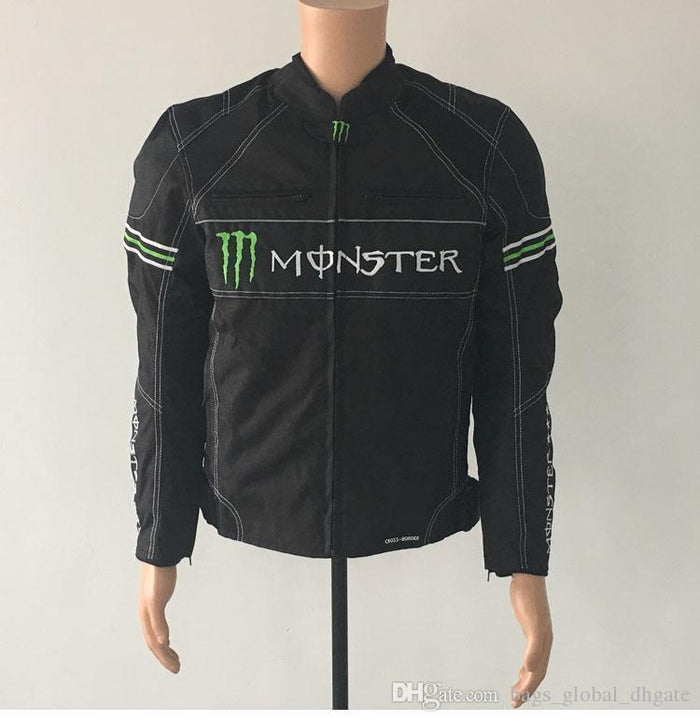 Kawasaki Monster Black Riding Jacket