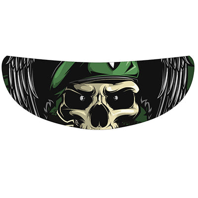 Helmet Halloween Visor Cool Sticker