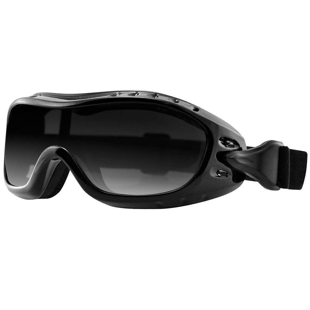 Night Hawk Over The Smoke Lens Glass Goggle