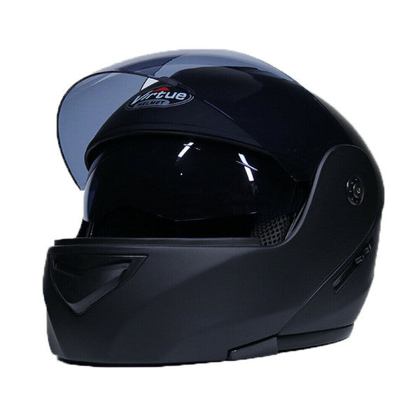 Dual Visor Motorcycle Modular Helmet FULL Open Face