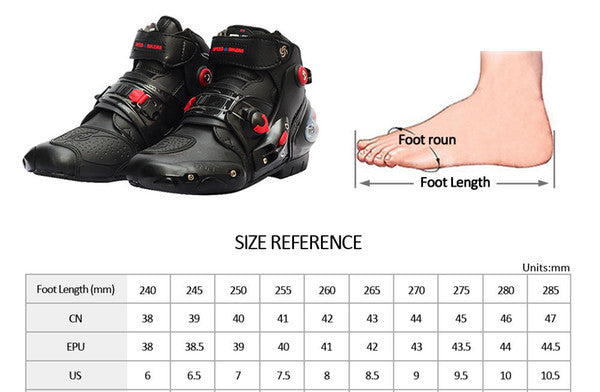 Motorcycle Waterproof soft Non-slip Boots