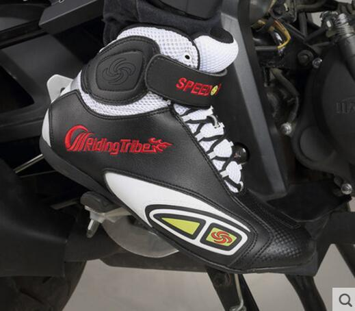 Riding tribe Gender Neutral riding Light summer racing breathable Motorcycle boots