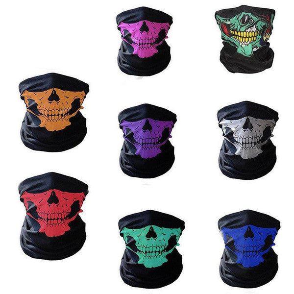3D Skull Sport Warm Full Face Mask