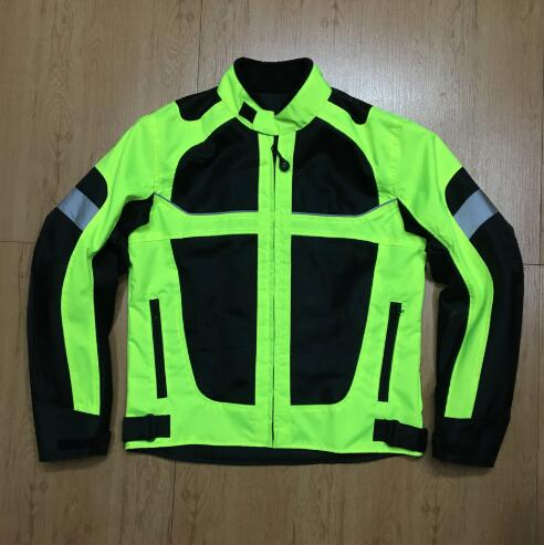 Men's Breathable Reflective Racing Jacket