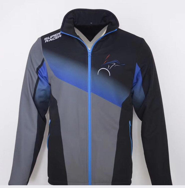BMW Racing Zipper Windproof Jacket