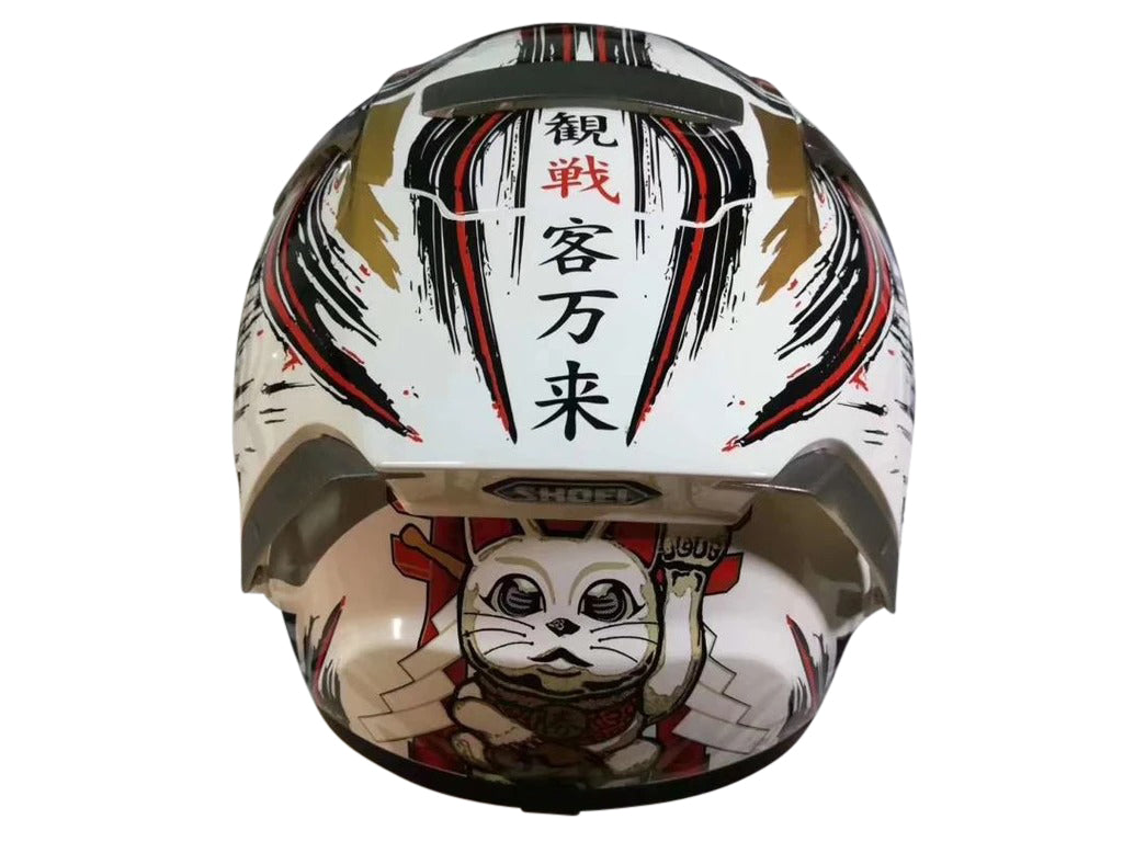 Shoei X14 Marque-z Lucky Cat HELMET Full Face
