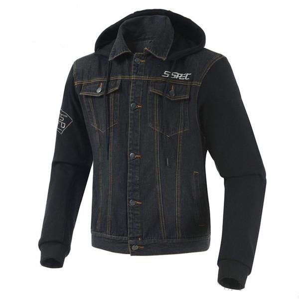 Casual Motorcycle Riding Denim Jacket