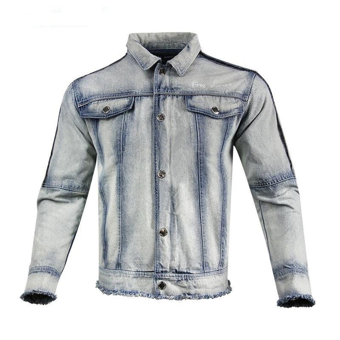 Cowboys Motorcycle Denim Racing Jacket