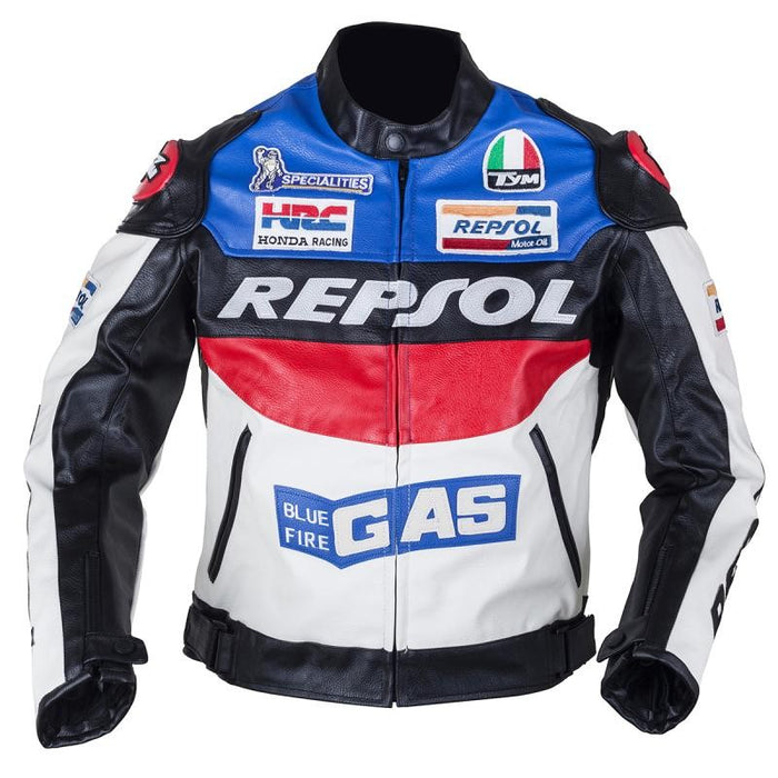 DUHAN Moto Leather Jacket GP REPSOL