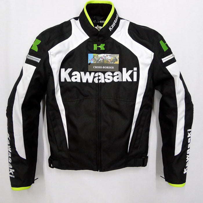 Kawasaki riding jacket motorcycle off-road racing