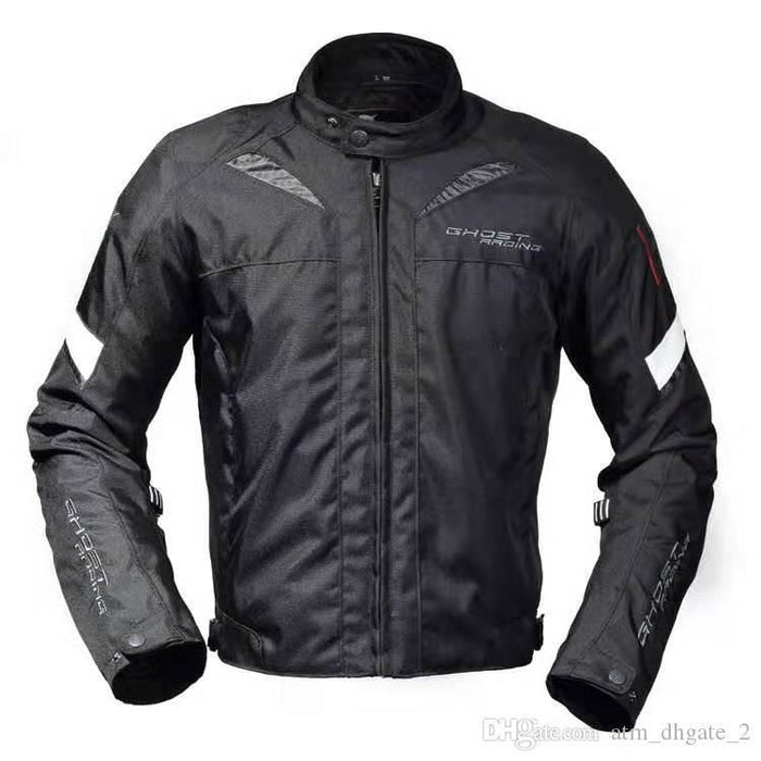 Gender Neutral Motorcycle Riding Waterproof Jacket