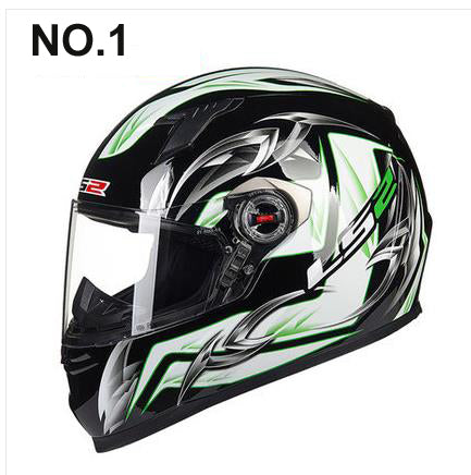 Newest ls2 ff358A Full Face Urban Racing Motorcycle Helmet