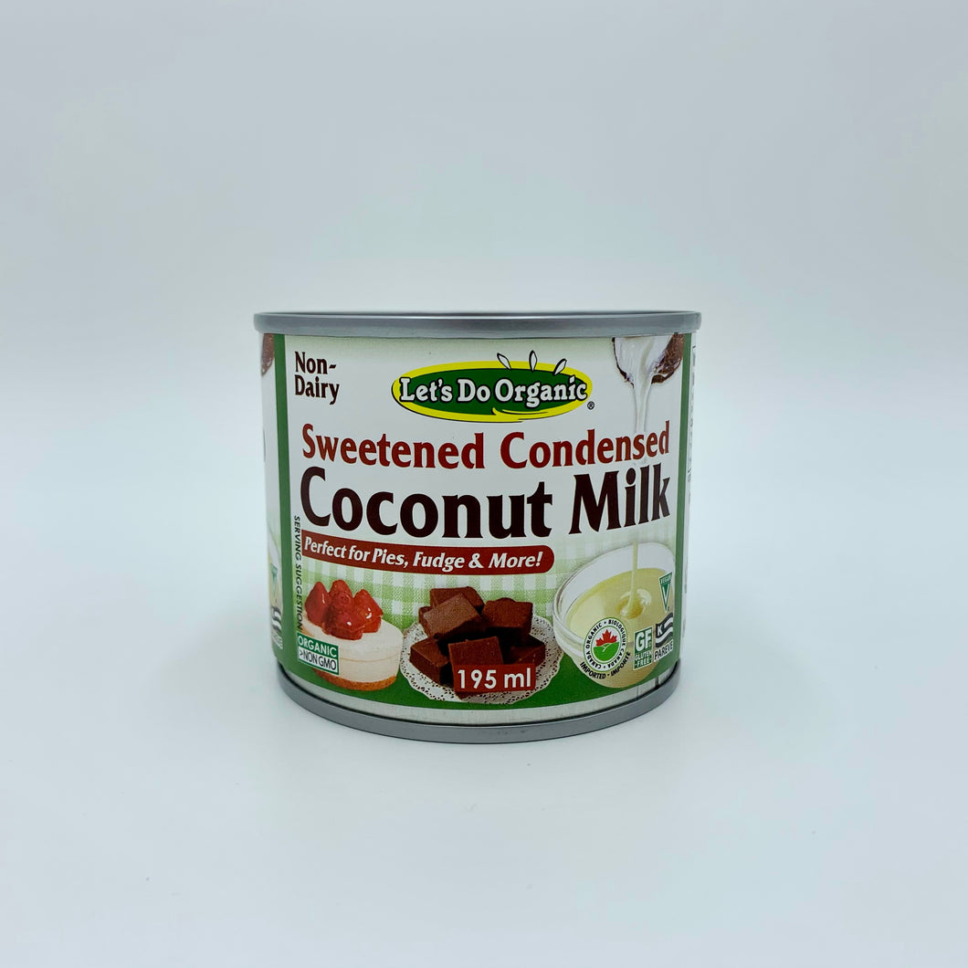 Sweetened Condensed Coconut Milk (organic)