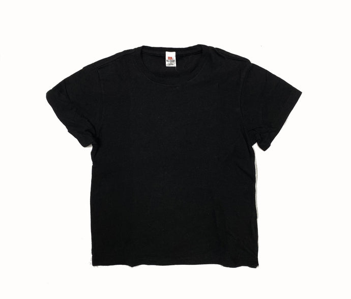 Heritage Cotton Classic Tee In Black