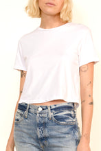 Load image into Gallery viewer, Babe Short Sleeve Tee In White