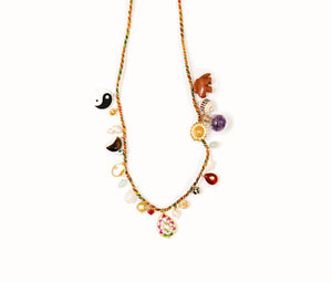 Sparkle Necklace In Multi